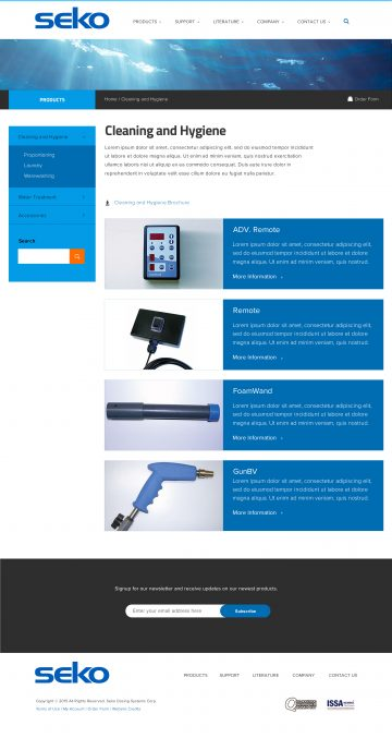 sekousa.com product category page
