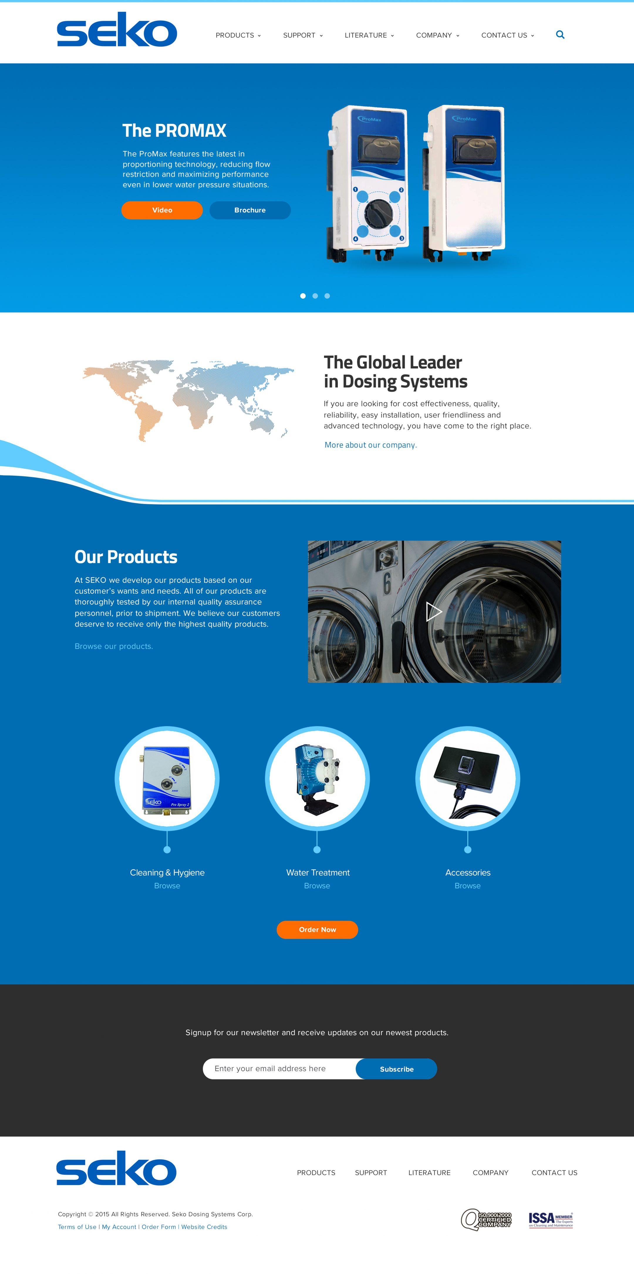 sekousa.com home page