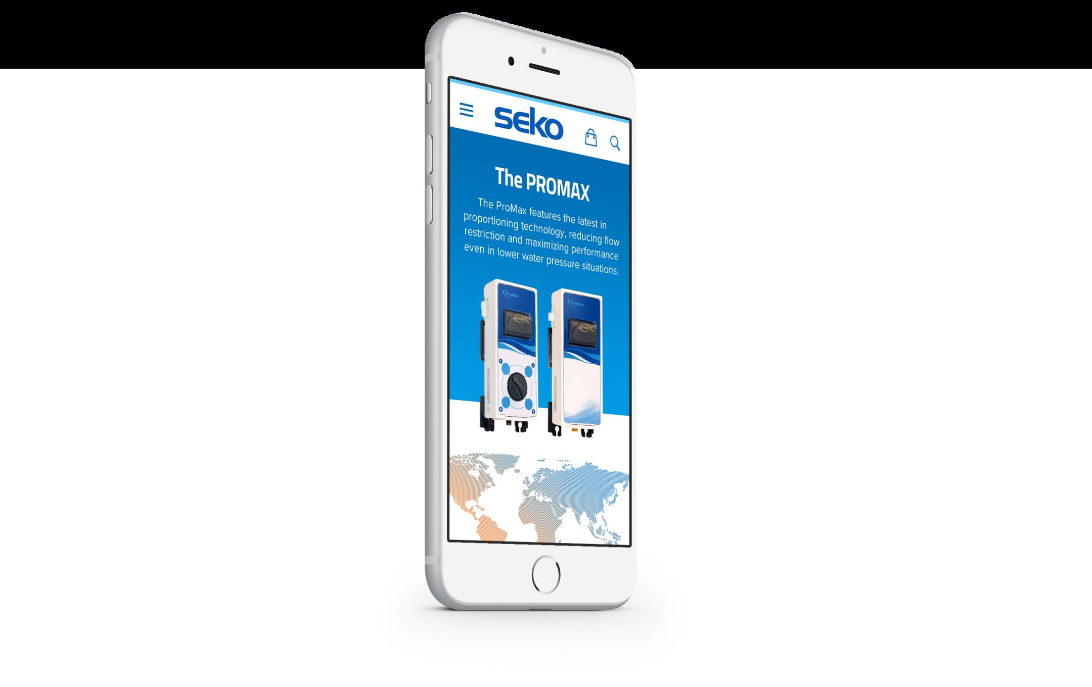 sekousa.com mobile site design