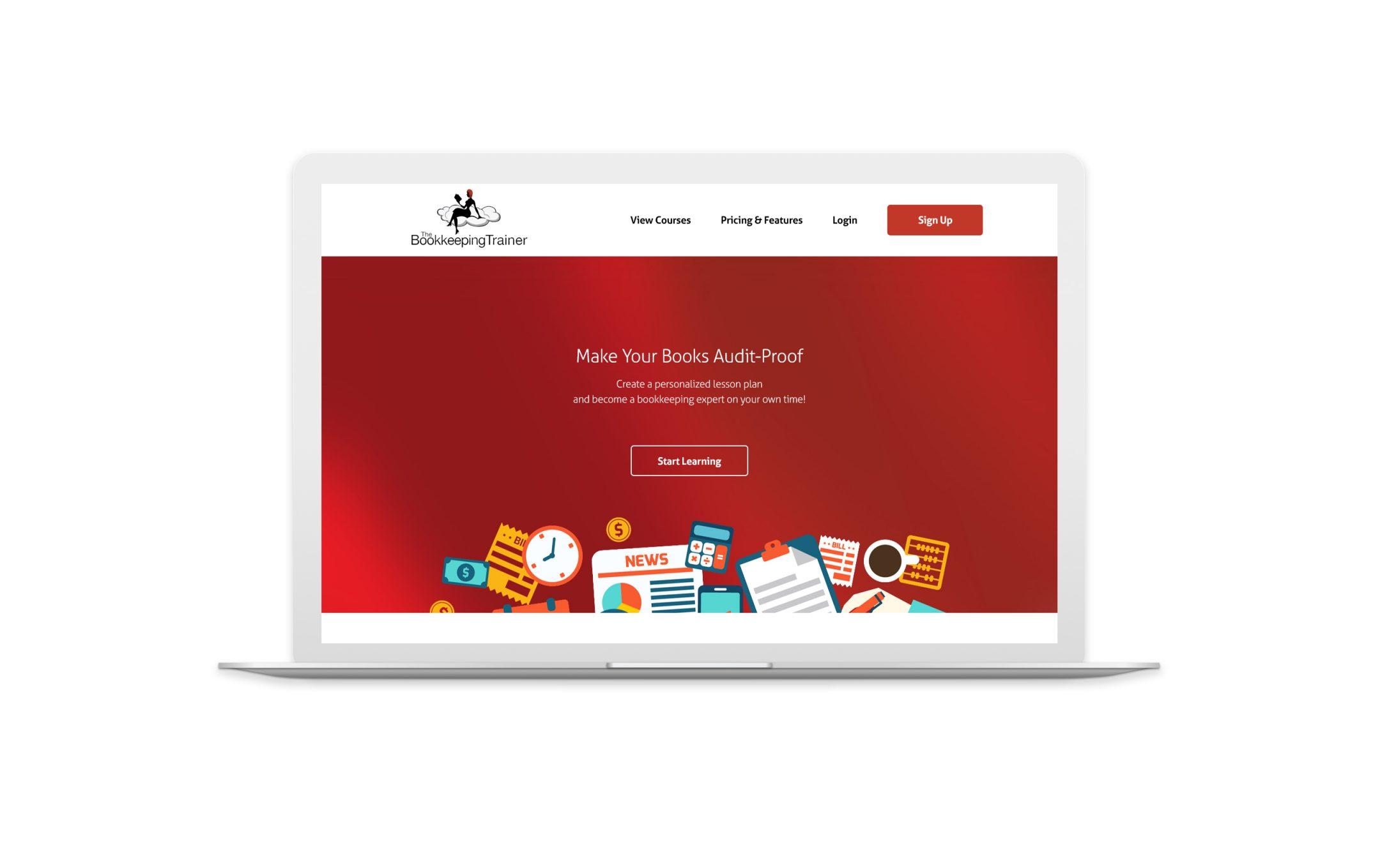 thecoachingredhead.com home page
