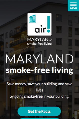 mdsmokefreeapartments.org mobile site design