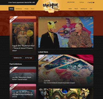 hivegallery.com home page