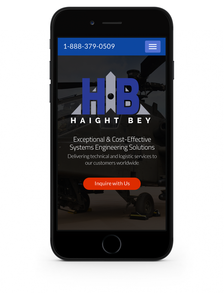 mobile site homepage design