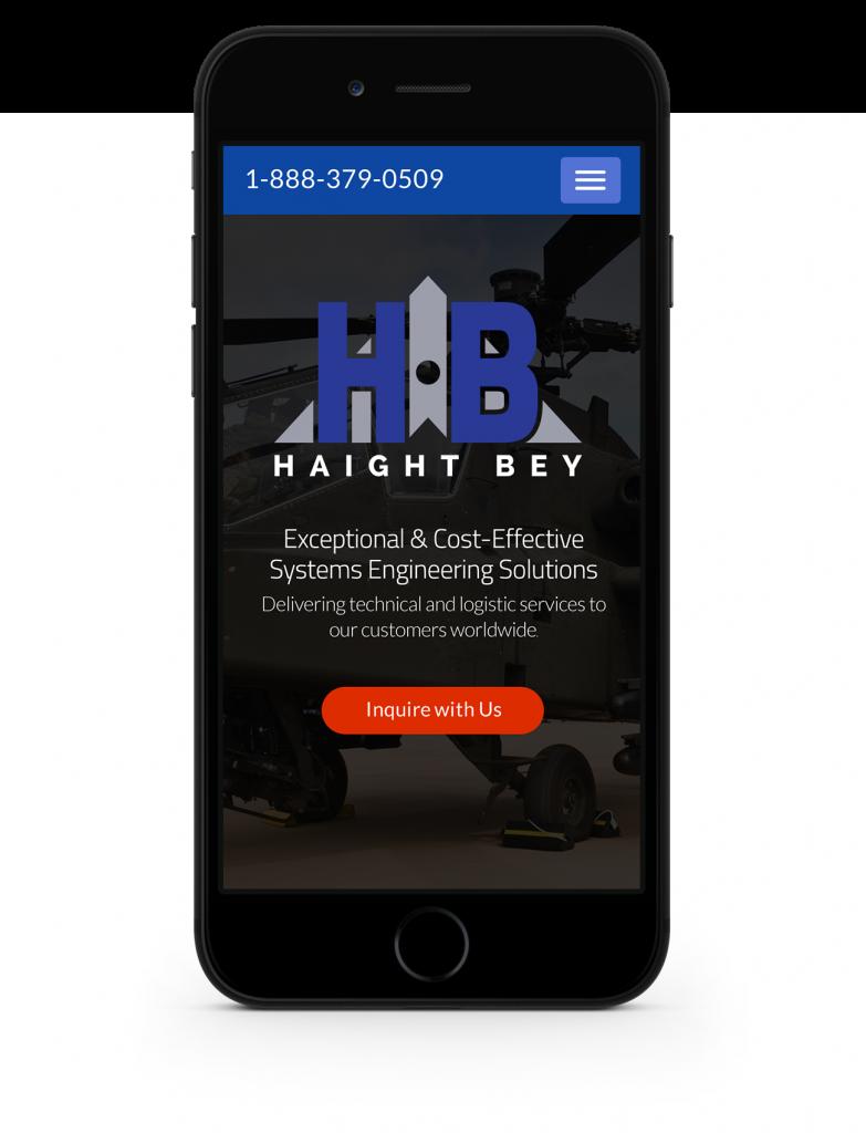 mobile site homepage design