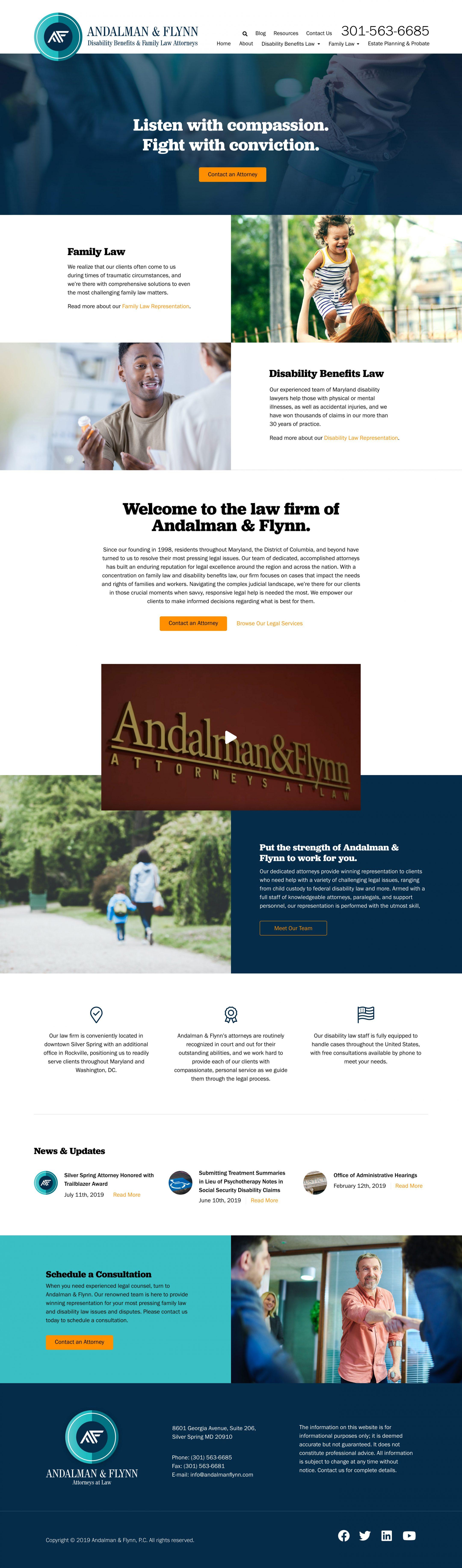 andalmanflynn.com home page