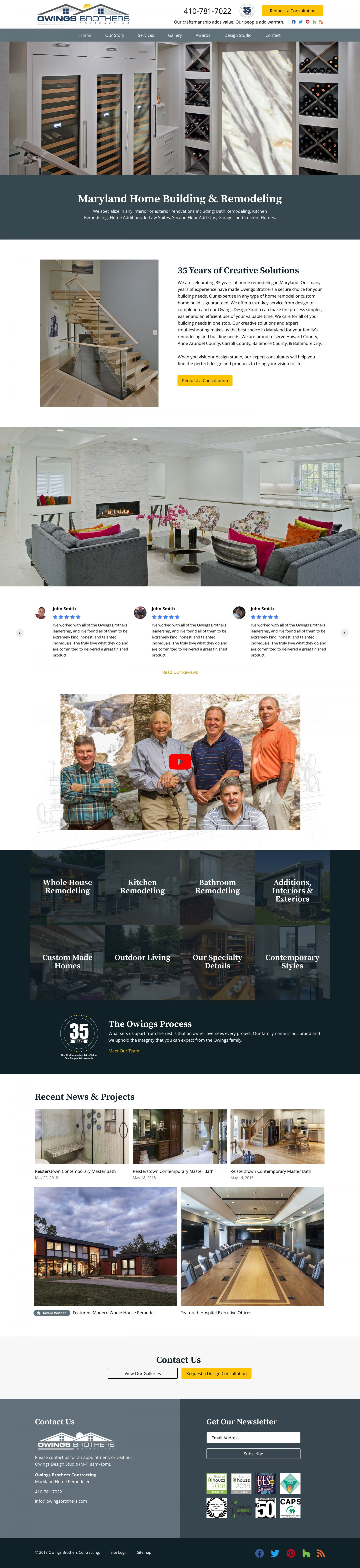 owingsbrothers.com home page